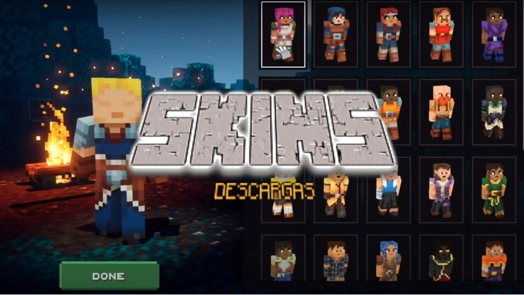 Descarga skins de minecraft