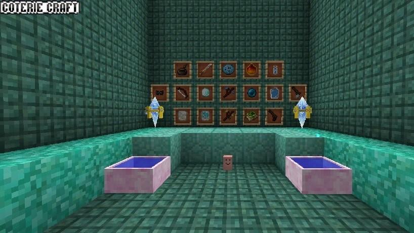 Textura de CoterieCraft para minecraft