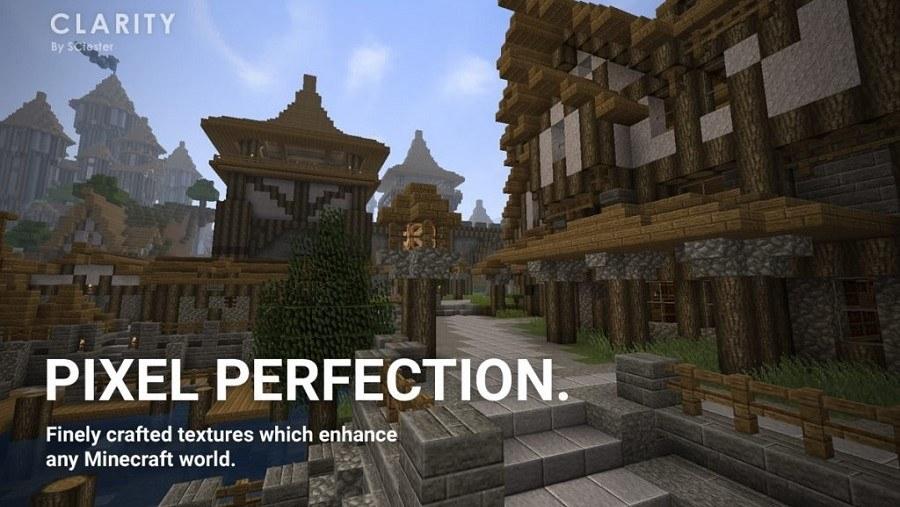 Descarga el mejor packs de texturas Clarity para Minecraft