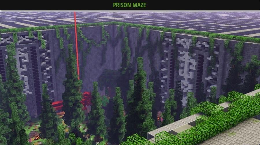 Prision maze mapa