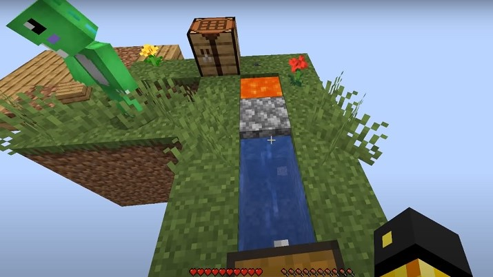 SKYBLOCK map para minecraft