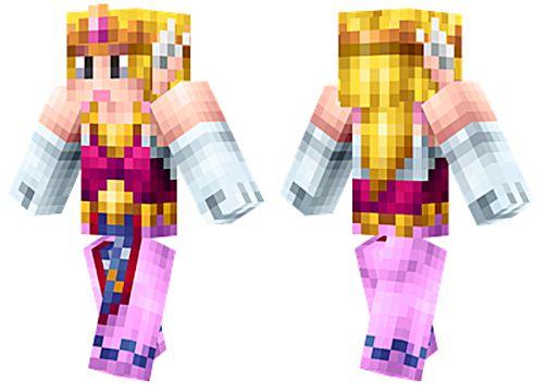 skins La princesa Zelda para minecraft