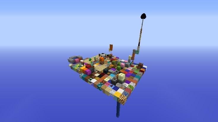 Mapa de supervivencia Square One para minecraft