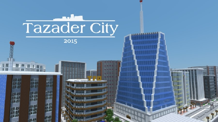 TAZADER CITY 2015 map