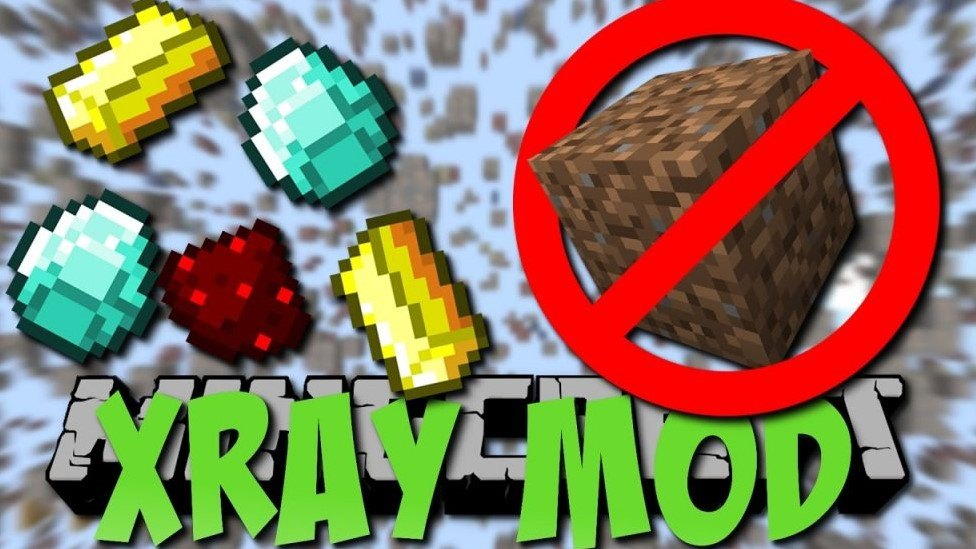 X-Ray Mod para Minecraft