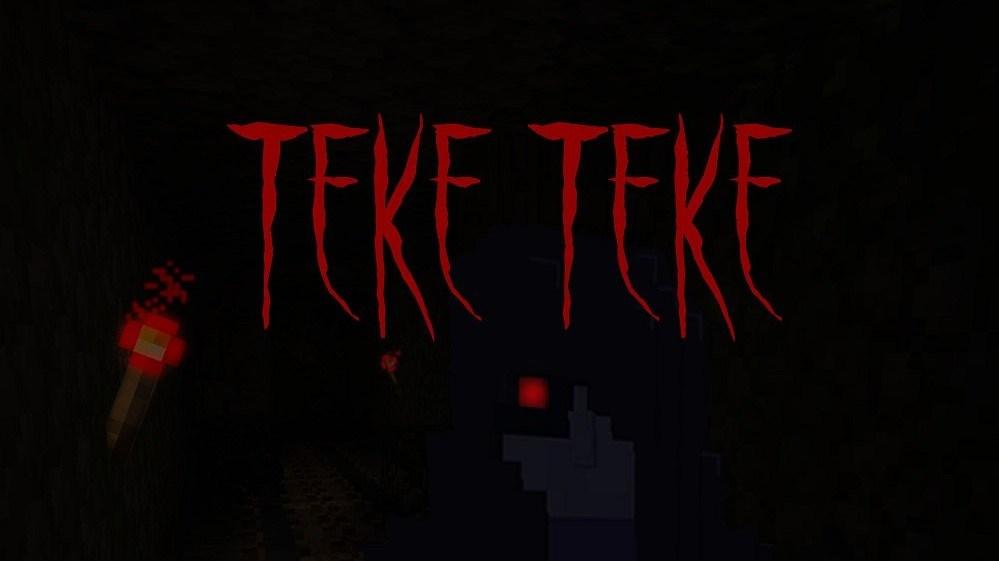 Mapa Teke teke de terror para minecraft