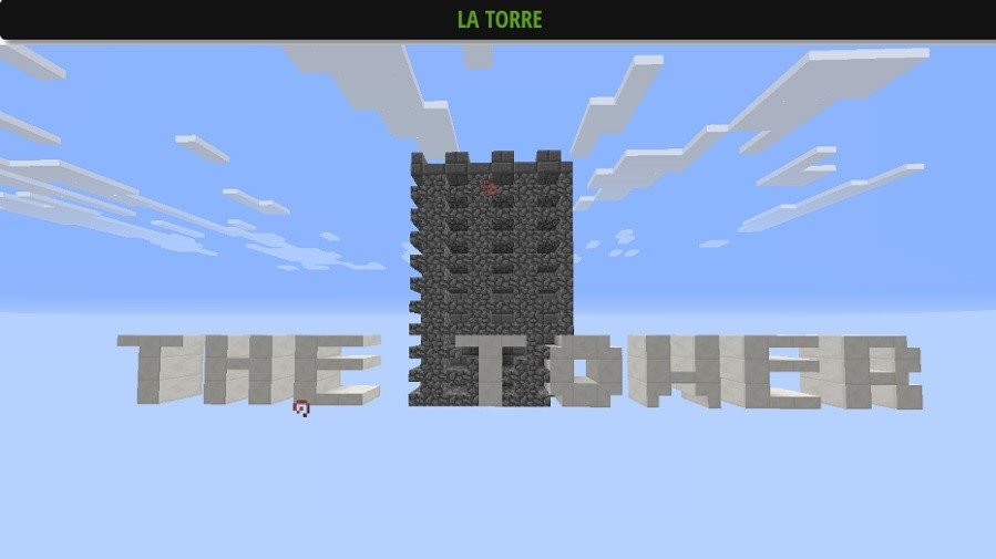 Mapa the-tower-para-minecraft