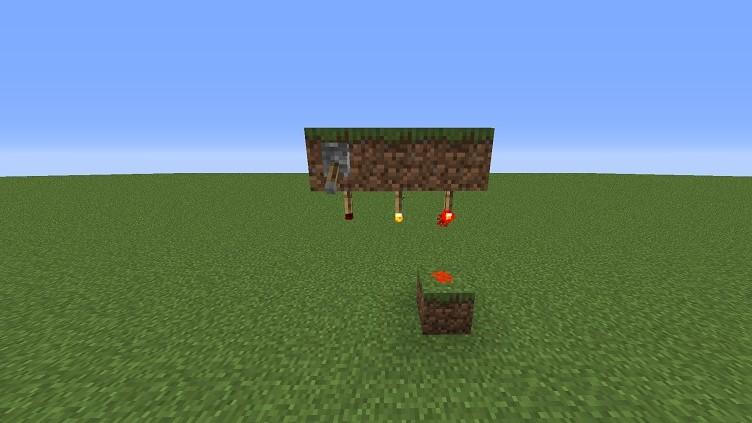 Mod. De antorcha de techo para Minecraft