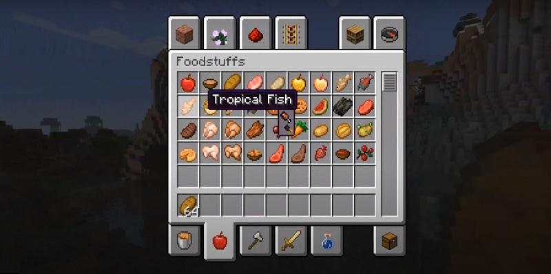 AppleSkin Mod para Minecraft