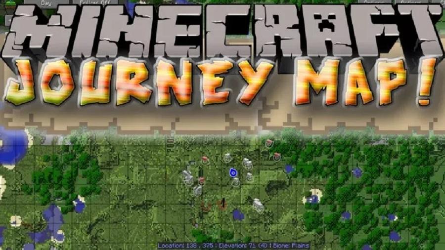 JourneyMap Mod para Minecraft 1.12.2 / 1.11.2