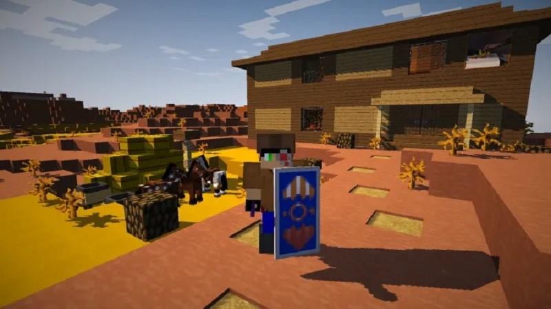 Wild West Map para Minecraft