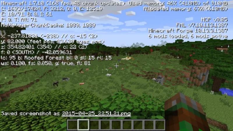 BetterFPS Mod Para Minecraft 1.12.2/1.11.2/1.10.2