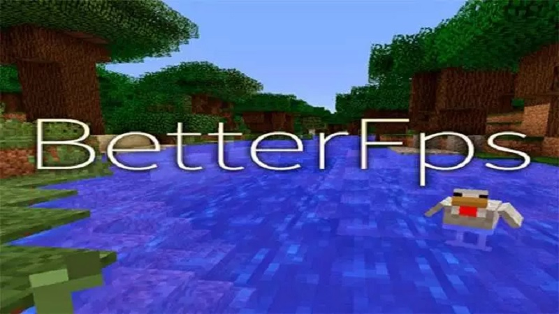 BetterFPS Mod para Minecraft