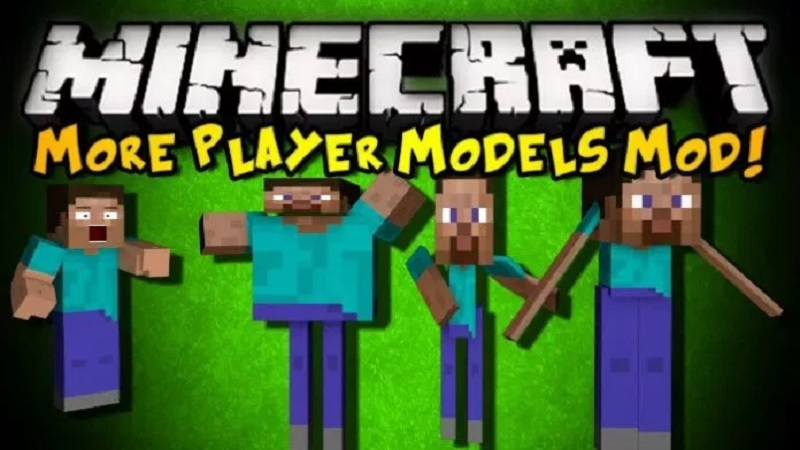 More Player Models 2 Mod for Minecraft 1.12.2/1.11.2