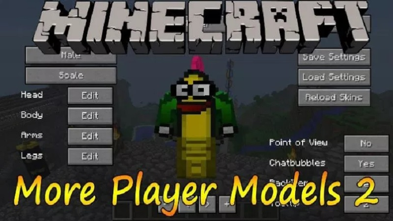 More Player Models 2 1.12.2/1.11.2