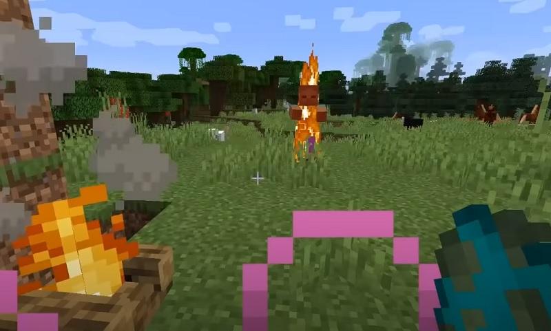 Healing Campfire Mod para Minecraft